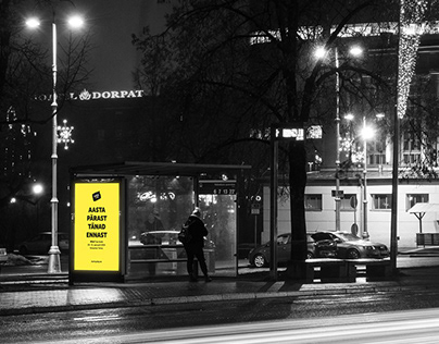 sTARTUp Day 2020 Bus Stop Campaign