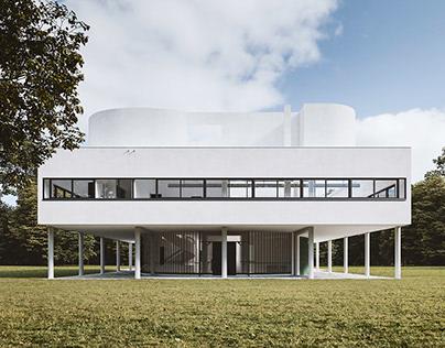 Villa Savoy (France) - CGI