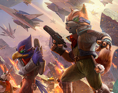 Star Fox (Fake Cover #5)