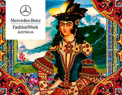 Textile Design for Mercedes Benz Fashion week