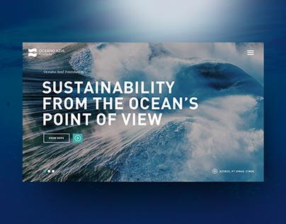 Oceano Azul Foundation Website
