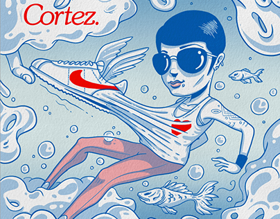 Nike Sportswear // #Cortez illustration Series