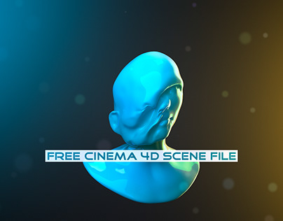 Simple Melt   Fully Rigged Free Cinema 4D Scene File