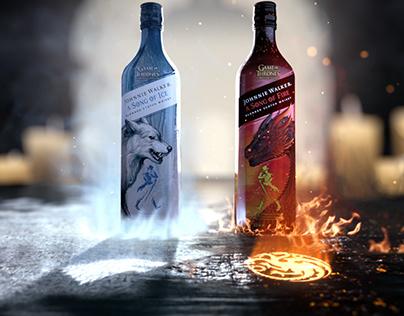 """JOHNNIE WALKER """"FIRE & ICE"""""""
