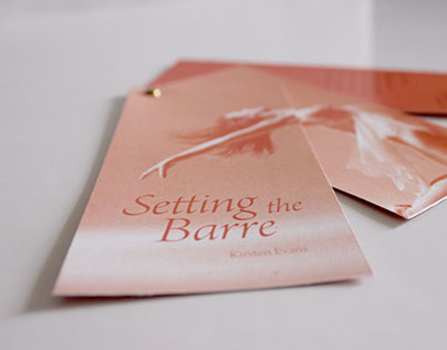 invitation + poster ~ Setting the Barre