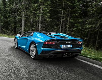 Lamborghini Aventador S Roadster - Launch campaign