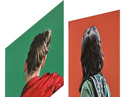 Retratos e irregulares