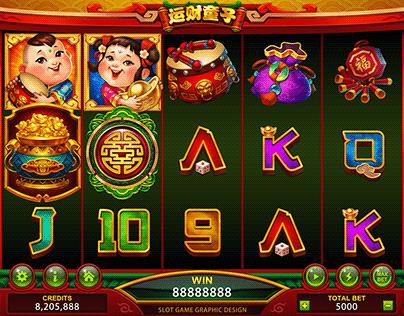 2019 FUWA Slot Game Graphic Design