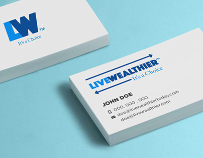 Live Wealthier (Lifestyle and Finance Blog) Rebranding