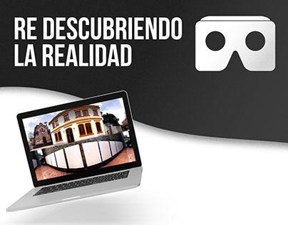 Redescubriendo la realidad • VIRTUAL REALITY