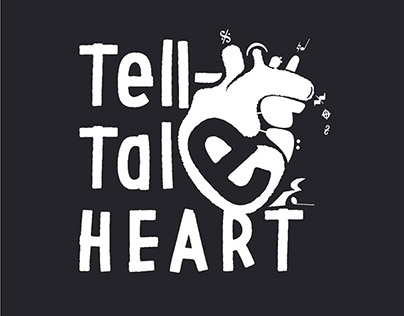Tell-Tale Heart. Logo for music group