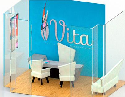 Diseño de espacios y mobiliario para SPA Vita