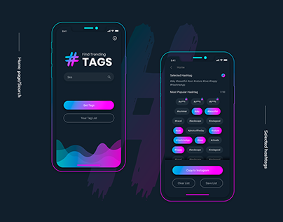 Likes with Hashtags — Hashtag Generator App