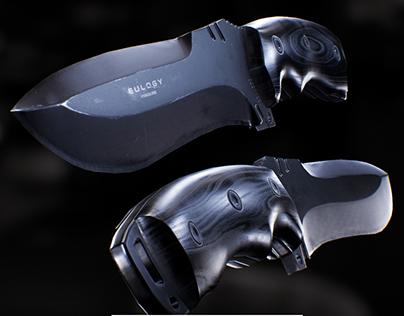 3D Survival Knife