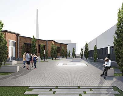 Landscape design and art object for Jewish Museum