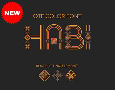 Habi Color Font