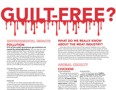 Meat Industry Typographic Discourse