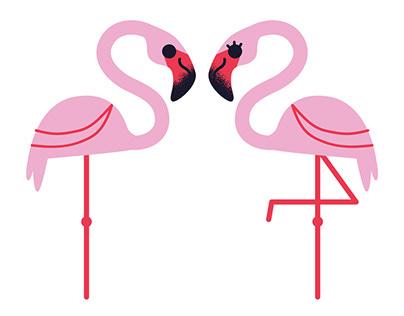 Love You Flamingo