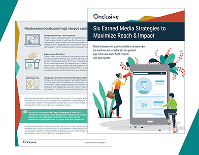 One Sheets & Case Studies