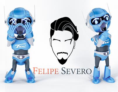 Mascote 3D - Appelsoft