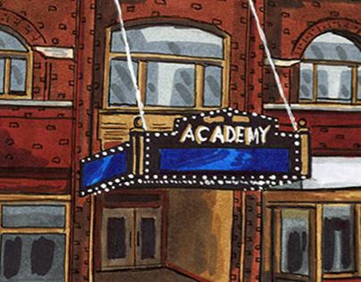Academy Theatre Urban Sketch