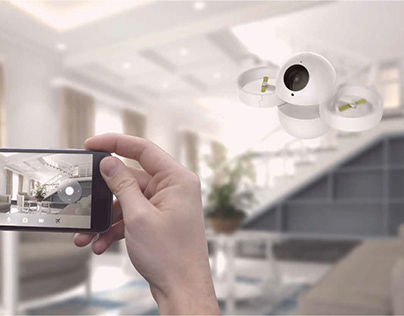 Home Drone-An Intimate Home Security Camera