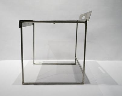 Replaceable-Top Metal Seat