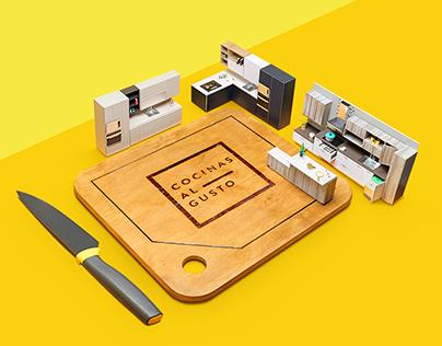 Corona/Cocinas al gusto - Stop Motion - PaperCraft