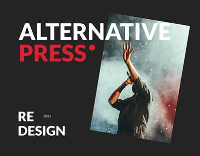 Redesign concept for the magazine alternatives press