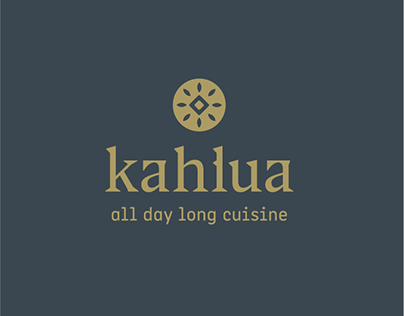 Kahlua all day long cuisine Branding