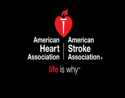 American Heart Association Banner Design