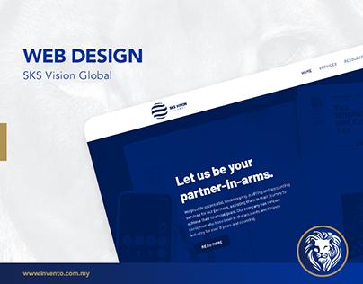 Web Design - SKS Vision Global