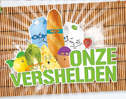 Onze Vershelden | Kids Loyalty Program Design