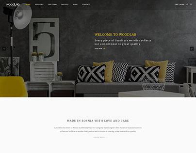 New website for WoodLab Furniture Sarajevo