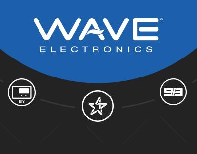 Motion Graphics: WAVE Electronics
