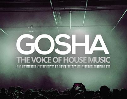 Gosha's promo-site