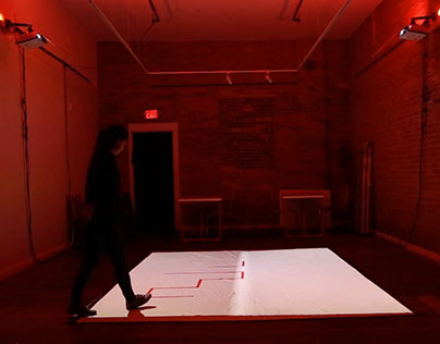 Interactive Space: Invisible Territories