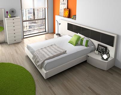 3D VISUALIZATION/ 3d Bedrooms