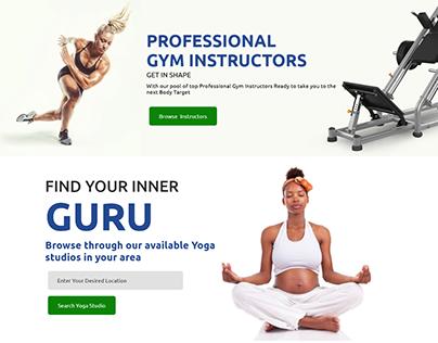 Health Plus Landing Page