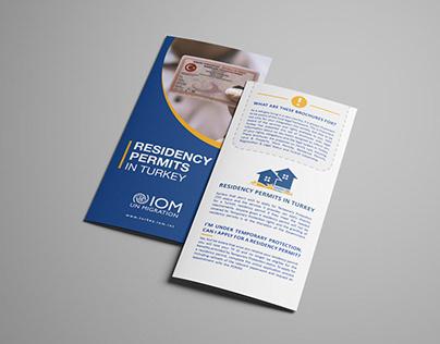 Legal brochures for IOM