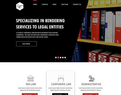 law firm website design #modern web design