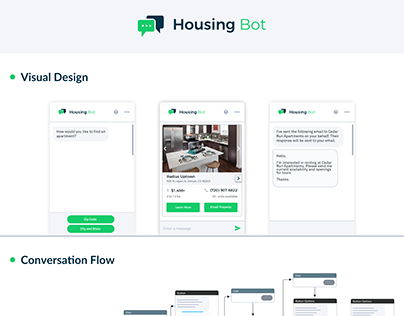 Chatbot UI Design