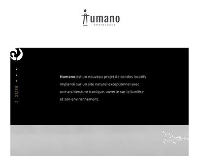 HUMANO APARTMENTS branding