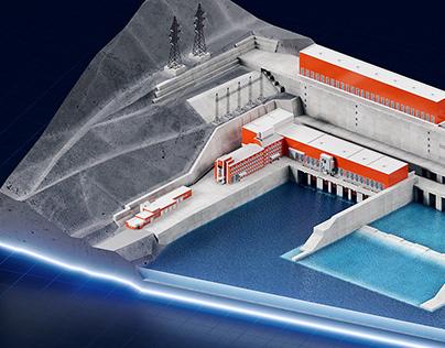 Ust-Srednekanskaya hydroelectric power station
