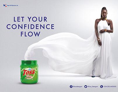 Toss Detergent Campaign