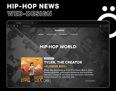 WEB-DESIGN | HIP-HOP NEWS
