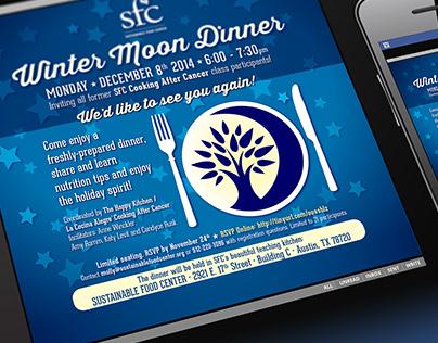 Winter Moon Dinner Email Blast