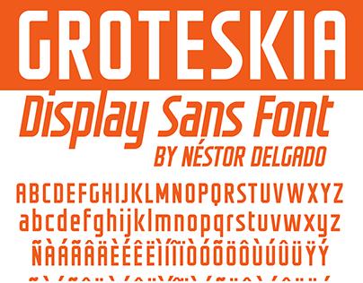 GROTESKIA - FREE FONT