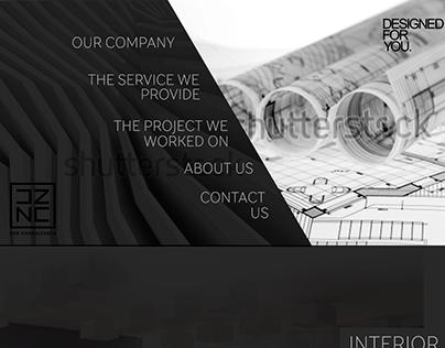 Design&architectural sudio needed web-page