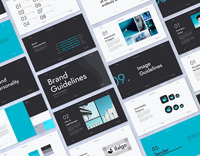 Minimal brand identity guidelines